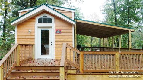 Christmas Cabins At Lake Rudolph Campground And Rv Resort