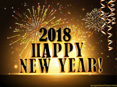 Happy New Year 2018 Desktop Wallpaper  Festival Collections