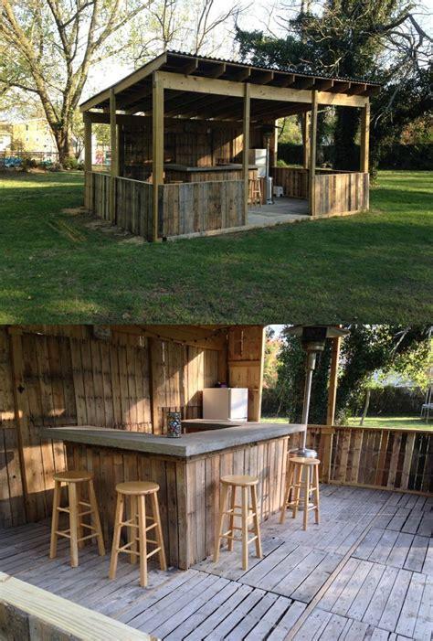portable outdoor bar designs makes a addition