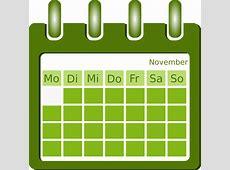 Darmo grafika wektorowa Kalendarz, Organizacji