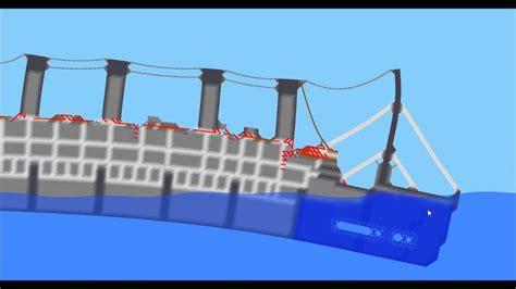 sinking ship simulator the rms titanic