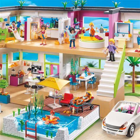 playmobil maison moderne chaios