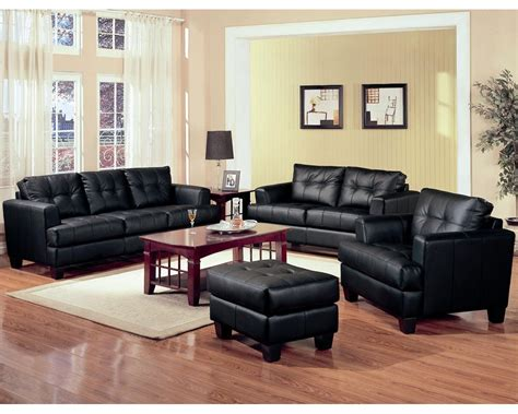 leather living room sets black leather living room set inspiration decosee