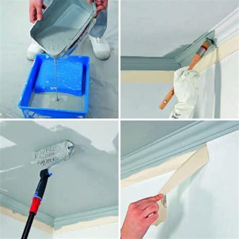 comment peindre un plafond moulur 233 bricobistro