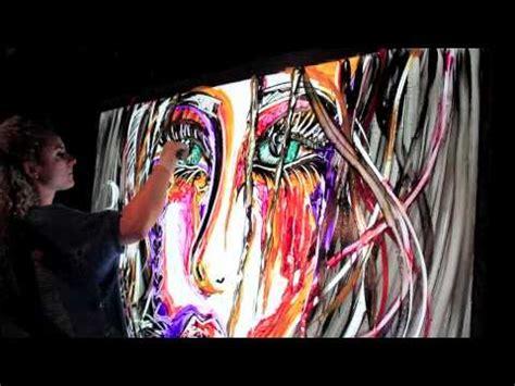tapis cirque du soleil 1 min live painting quot the killer ending quot