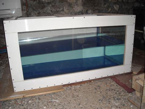 fabrication d un aquarium en bois