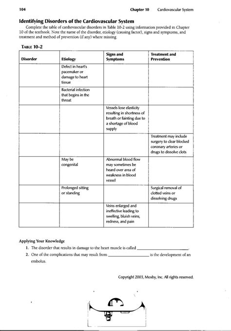 18 Best Images Of Circulatory System Worksheets And Answers  Circulatory System Worksheets