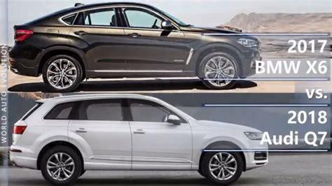 2017 Bmw X6 Vs 2018 Audi Q7 (technical Comparison)