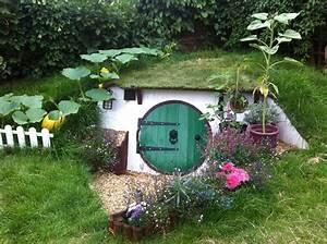 Erdhaus Selber Bauen : so kannst du ein hobbit haus selber bauen ideen garten pinterest haus selber bauen hobbit ~ Markanthonyermac.com Haus und Dekorationen