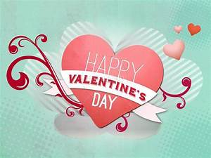 Happy Valentine's Day Heart Template | Valentines Day ...