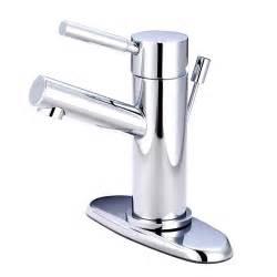 modern cavell single handle polished chrome bathroom sink