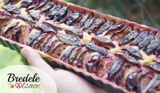 tarte aux quetsches recette alsacienne bredele alsace