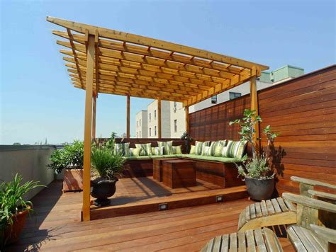 Home Terrace : Terrace Pergola Outdoor Living Extraordinary Contemporary