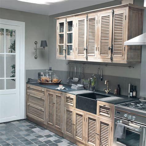 cuisine meubles 233 l 233 ments ind 233 pendants en bois patin 233 ou blanc