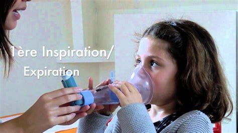 asthme comment utiliser une chambre d inhalation comme l able spacer