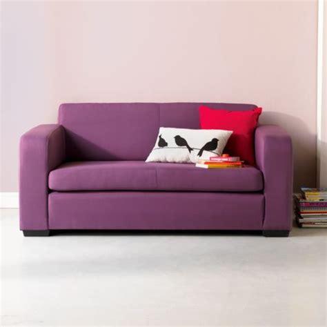 alin 233 a studio mousse canap 233 lit 2 places prune d 233 plimousse violet 151 0x69 0x82 0 canap 233