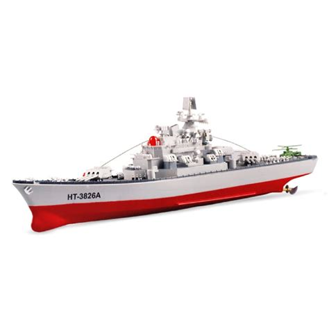 Rc Boats Military by Ht3826a Remote Control Battleship Model Toy Rc Boat