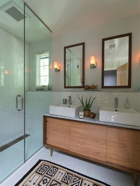 Mid Century Modern Bathroom Home Design Ideas, Pictures