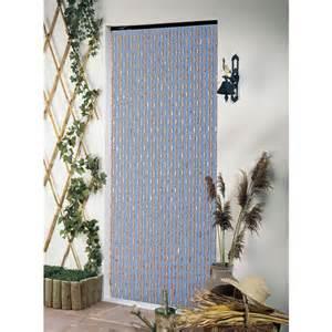 rideau de porte en perles et olives bois 90 x 200 cm castorama