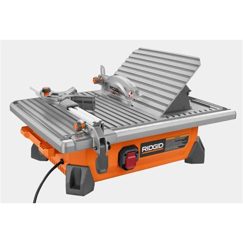 ridgid 7 quot site tile saw page 2 slickdeals net