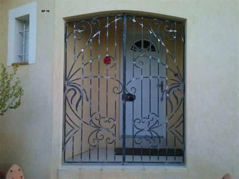 porte en fer forge maison porte en fer forg 233 portes en fer et fer forg 233