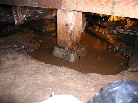 foundation repair and crawl space post replacement