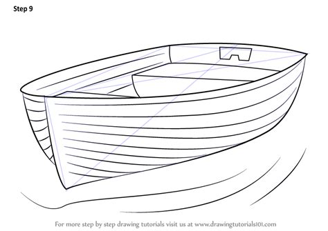 How To Draw A Dragon Boat by Step By Step How To Draw Boat At Dock