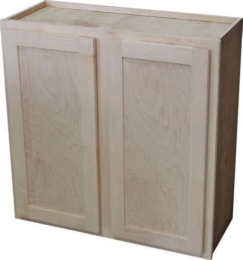quality one 30 quot x 30 quot unfinished maple standard wall