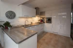 meuble cuisine blanc laqu 233 cuisine en image