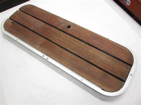 Good Boat Cover Brands by Boat Floor Deck Ski Hatch Cover Teak Aluminum Frame 37 1 2