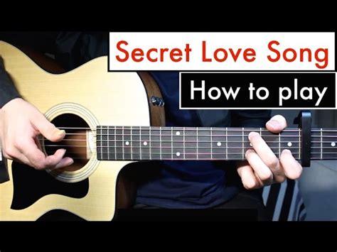 Secret Love Song Little Mix Guitar Lesson