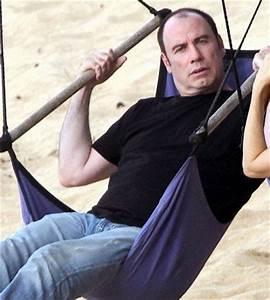 John Travolta Relaxes about Hair Loss