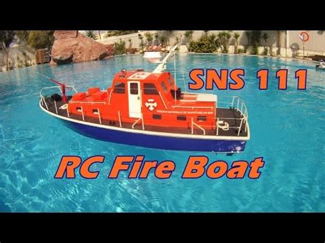 Rc Fire Boat Youtube by Cvp Rc Fire Boat Sns 111 Youtube