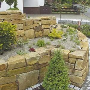 Der Naturstein Garten : steine mauern garten kleinster mobiler gasgrill ~ Markanthonyermac.com Haus und Dekorationen