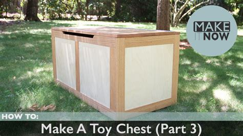 Make A Toy Chest (part 3) Malm Chest Of 2 Drawers White Stained Oak Fisher Paykel Single Drawer Integrated Dishwasher E Gomme Pull Out Trash Kitchen End Table With Diy Scented Liners Singapore Cupboard And Shelves Opus Double Size Wooden Bed Frame 4