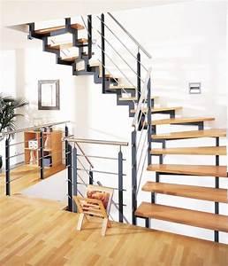 Stahl Holz Treppe : treppe holz stahl treppe pinterest ~ Markanthonyermac.com Haus und Dekorationen