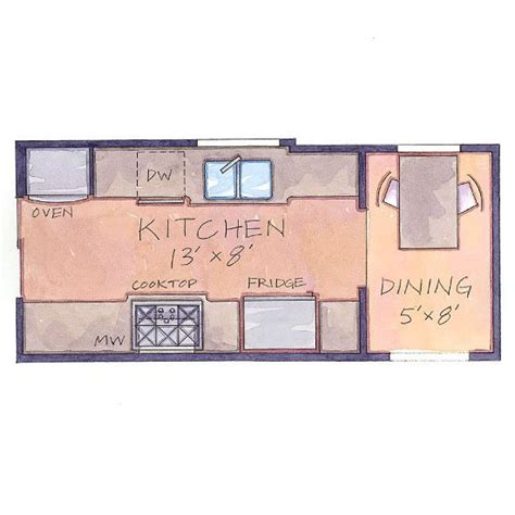 our favorite small kitchens that live large small