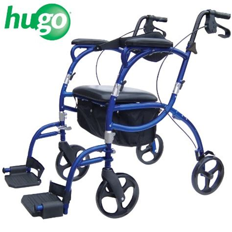 hugo navigator combo rollator walker transport