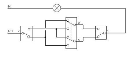 enigme probl 232 me d electricien va et vient 224 trois interrupteurs prise2tete
