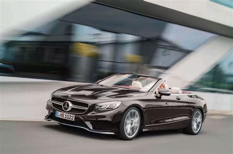 2018 Mercedesbenz Sclass Coupe, Cabriolet Revealed