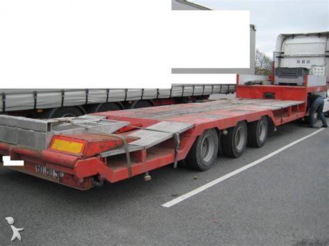 semi remorque actm porte engins porte char 3 essieux occasion n 176 309551