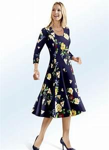 Bader Mode Kleider : kleider von bader mit muster look f r damen ~ Markanthonyermac.com Haus und Dekorationen