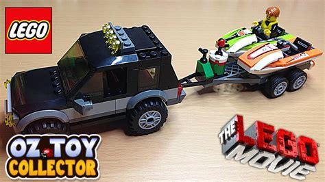 Toy Lego Boat by The Lego Movie Lego Toys Lego Car Lego Boat Jet Boat Youtube