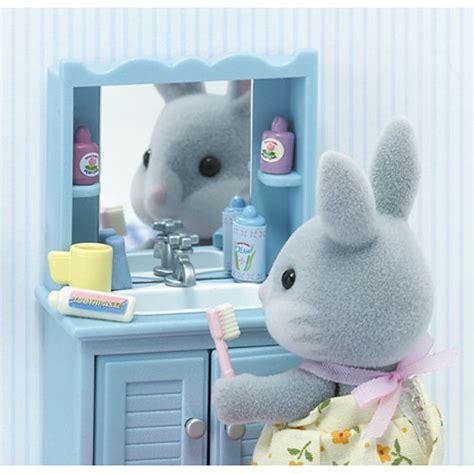 calico critters master bathroom set timbuk toys
