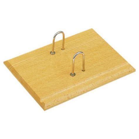 socle en bois verni pour bloc agenda journalier 306350
