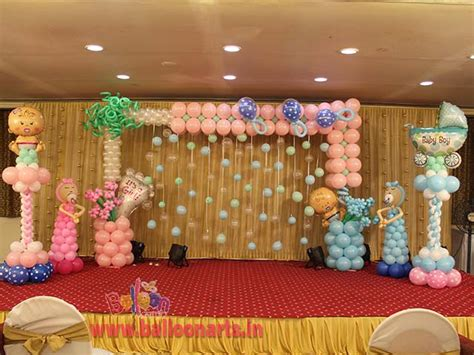 Baby Shower Decorations India balloon decorations balloon decorators in mumbai most