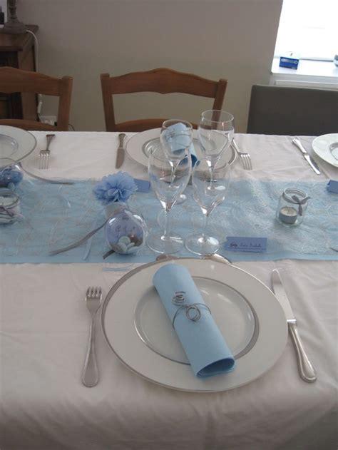 d 233 co table bapt 234 me gar 231 on th 232 me voiture gris bleu bapteme tables