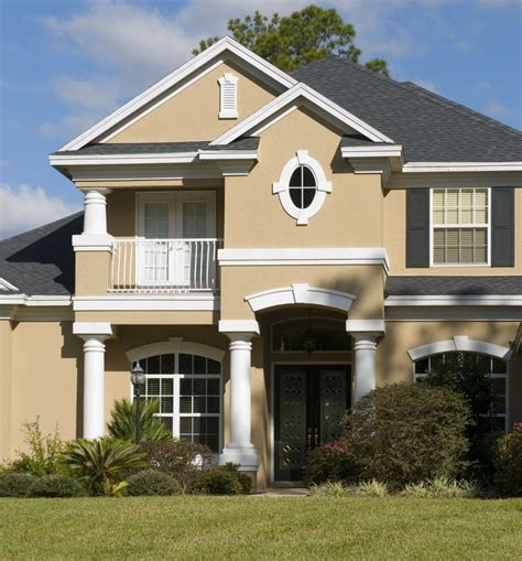 Exterior Paint Schemes And Consider Your Surroundings
