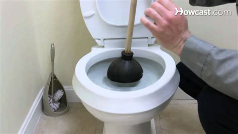 how to fix a clogged toilet plumbing repairs