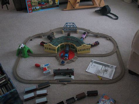 trackmaster at tidmouth sheds set by taionafan369